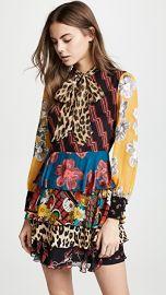 alice   olivia Dasha Tiered Ruffle Dress at Shopbop