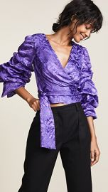 alice   olivia Dominica Reversible Blouse at Shopbop