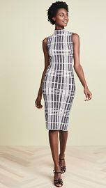 alice   olivia Hana Mock Neck Dress at Shopbop