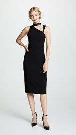alice   olivia Jona Mock Neck Cutout Dress at Shopbop