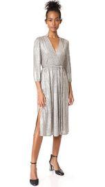 alice   olivia Katina Gathered Midi Dress at Shopbop