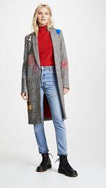 alice   olivia Kylie Patchwork Jacket at Shopbop