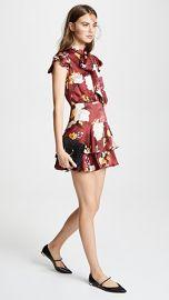 alice   olivia Lashay Ruffle Dress at Shopbop