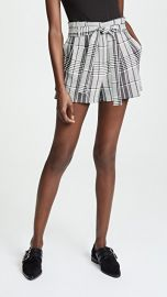 alice   olivia Laurine Paper Bag Shorts at Shopbop