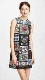 alice   olivia Marcelina Embroidered Dress at Shopbop