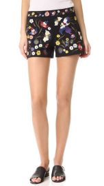 alice   olivia Marisa Embroidered Shorts at Shopbop