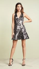 alice   olivia Marleen Flounce Dress at Shopbop