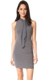 alice   olivia Mary Fitted Dress with Neck Tie at Shopbop
