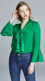 alice   olivia Meredith Blouse at Shopbop