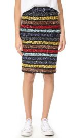 alice   olivia Ramos Embellished Fitted Sequin Skirt at Shopbop