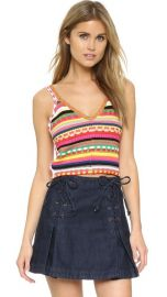 alice   olivia Sandrine Cropped Top at Shopbop