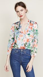 alice   olivia Trista Blouse at Shopbop