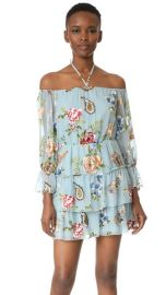 alice   olivia Waylon Blouson Sleeve Dress at Shopbop