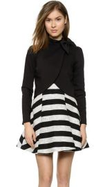 alice and olivia Bow Neck Jacket at Shopbop