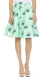 alice and olivia Earla High Waisted Skirt at Shopbop