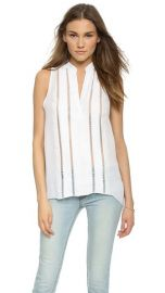 alice and olivia Helen Silk Top at Shopbop