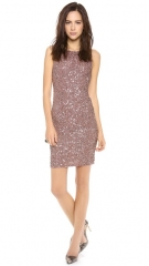 alice and olivia Kimber Embelilshed Fitted Dress at Shopbop