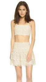 alice and olivia Marisol Lace Bustier Top at Shopbop
