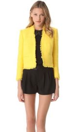 alice and olivia Princeton Box Jacket at Shopbop