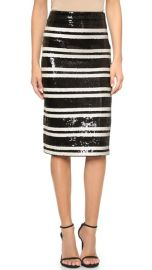alice and olivia Rue Embellished Pencil Skirt at Shopbop