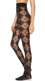 alice and olivia Semi Sheer Argyle Tights at Shopbop