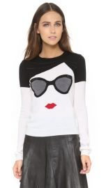 alice and olivia Stace Face Sweater at Shopbop