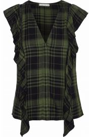 alice and olivia janet blouse at The Outnet