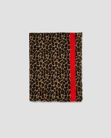 animal print scarf at Zara