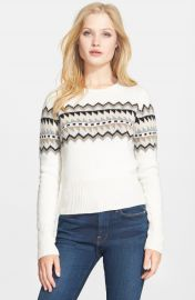 autumn cashmere Fair Isle Sweater at Nordstrom