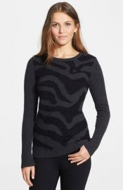 autumn cashmere Intarsia Cashmere Sweater at Nordstrom