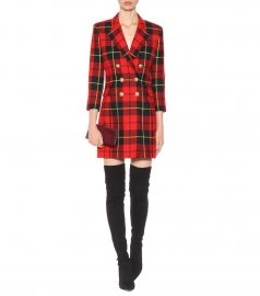 bbf96939e03dc WornOnTV: Fallon's red plaid blazer dress on Dynasty | Elizabeth Gillies |  Clothes and Wardrobe from TV