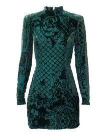 balmain hm velet dress at H&M