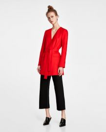 blazer-style dress at Zara