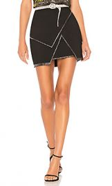 by the way  Carly Studded Mini Skirt in Black from Revolve com at Revolve