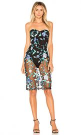 by the way  Lydia Embroidered Corset Dress in Blue Multi from Revolve com at Revolve