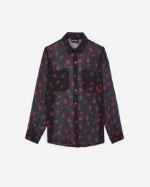 dark romance shirt at The Kooples