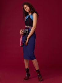 diane von furstenberg Tailored Midi Dress at DvF