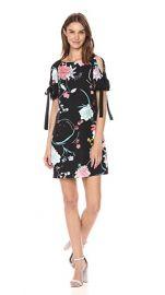drianna Papell Womens ZEN Blossom Shift Dress at Amazon
