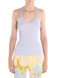 emilio pucci Ribbed Knit Tank Top at Saks Fifth Avenue