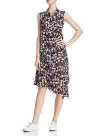 equipment Tira Printed Silk Dress at Bloomingdales