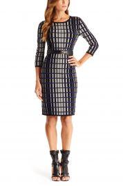 f5133 Viscose Blend Knit Sweater Dress at Hugo Boss