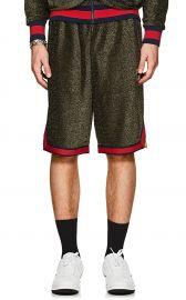 fila Logo Sparkly Shorts at Barneys