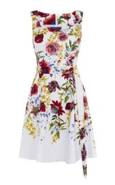 floral a line dress at Karen Millen