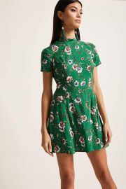 floral mini dress at Forever 21