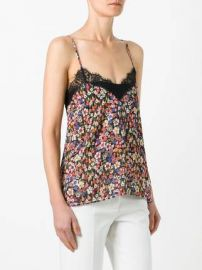 floral print camisole top at Farfetch