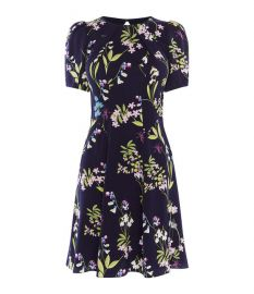 floral print dress at Karen Millen