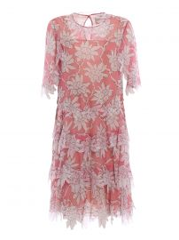 floral print tiered dress by Valentino at Farfetch