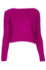 fluffy knit jumper at Topshop