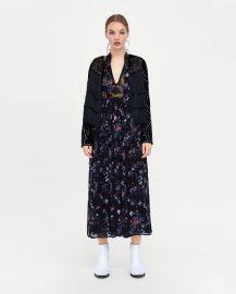 fringed velvet jacket at Zara
