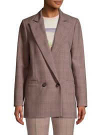 ganni suiting blazer at Saks Fifth Avenue
